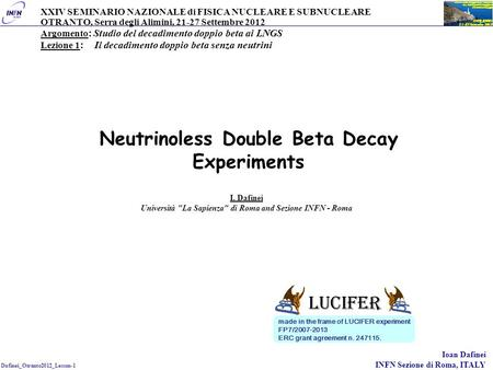 Neutrinoless Double Beta Decay Experiments