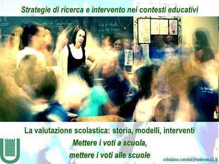 Strategie di ricerca e intervento nei contesti educativi