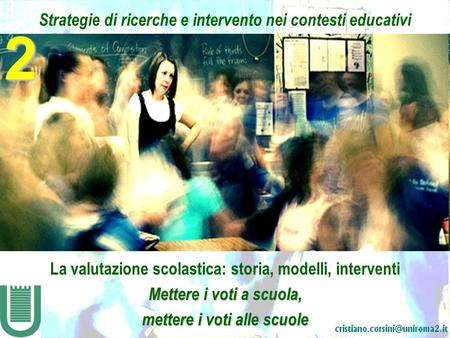 2 Strategie di ricerche e intervento nei contesti educativi