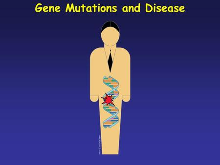 Gene Mutations and Disease