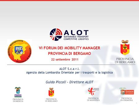 VI FORUM DEI MOBILITY MANAGER