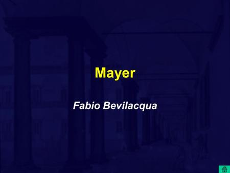Mayer Fabio Bevilacqua. Julius Robert Mayer (1814-1878)