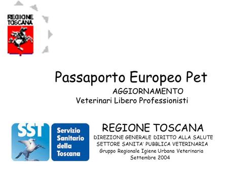 Passaporto Europeo Pet