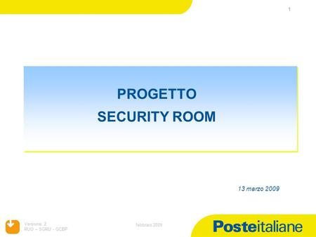 PROGETTO SECURITY ROOM