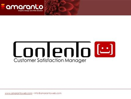 ~ Customer Satisfaction Manager.