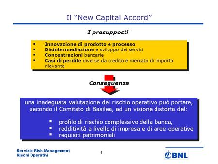 "Il ""New Capital Accord"""