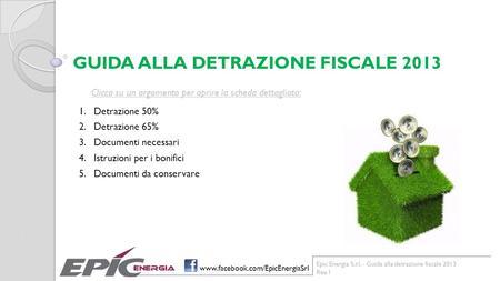 Condominio aspetti fiscali e contabili ppt scaricare - Guida fiscale ristrutturazione ...