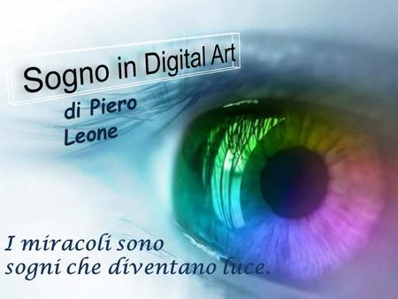 Sogno in Digital Art di Piero Leone