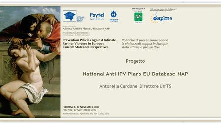 Progetto National Anti IPV Plans-EU Database-NAP Antonella Cardone, Direttore UniTS.