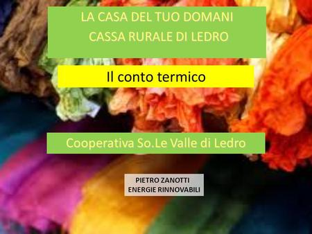 Cooperativa So.Le Valle di Ledro