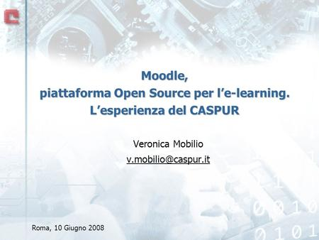 Moodle, piattaforma Open Source per l'e-learning