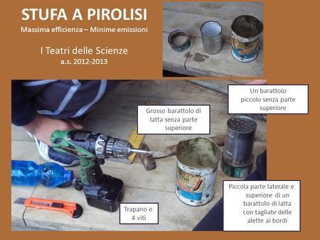 Avanzamento con click ppt scaricare for Costruire stufa pirolisi