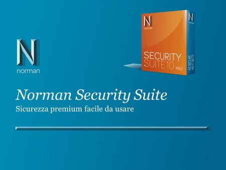 Norman Security Suite Sicurezza premium facile da usare.