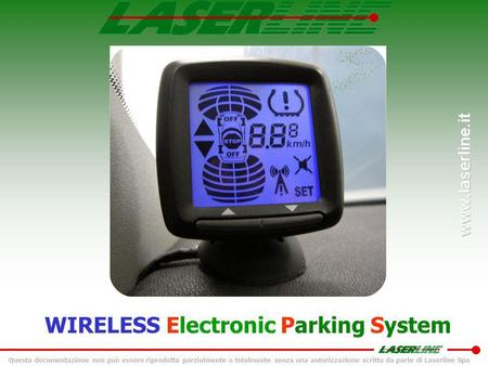 WIRELESS Electronic Parking System
