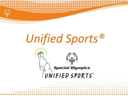 Unified Sports®.