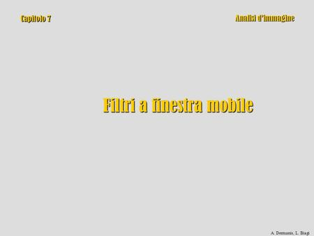 Filtri a finestra mobile