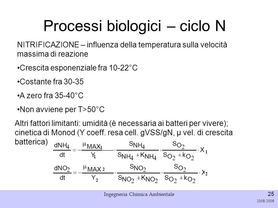 Università di Padova LASA – Laboratorio di Analisi dei Sistemi ambientali Ingegneria Chimica Ambientale 26 2008/2009 Denitrificazione processo di riduzione che avviene in condizioni anossiche.