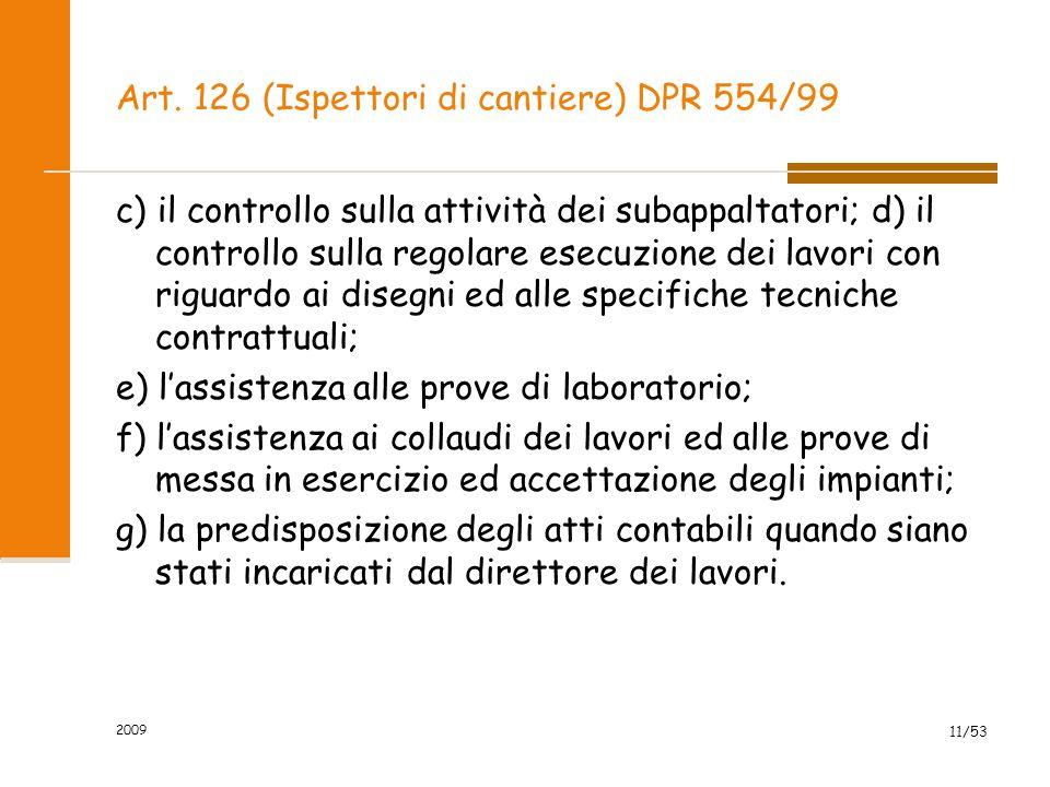 Art.128 (Ordini di servizio) DPR 554/99 1.