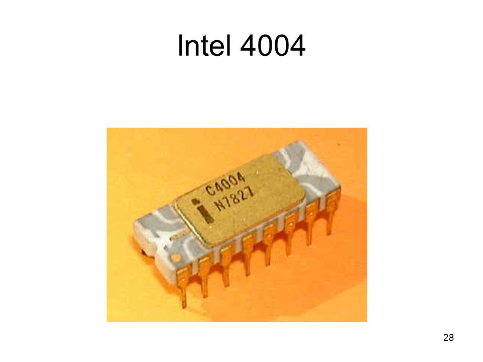 29 Intel 4004