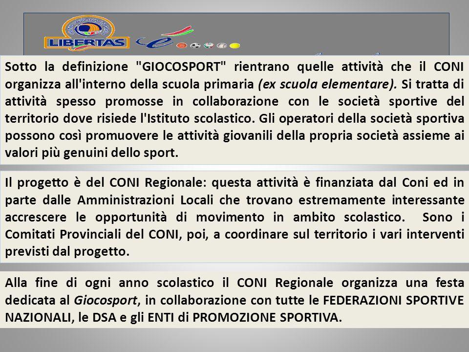PROTOCOLLO CONI-MIUR 21 SETTEMBRE 2007 Punto 3) - sostenere ed implementare l'attività ludico- motoria nella scuola dell'infanzia e nella scuola primaria