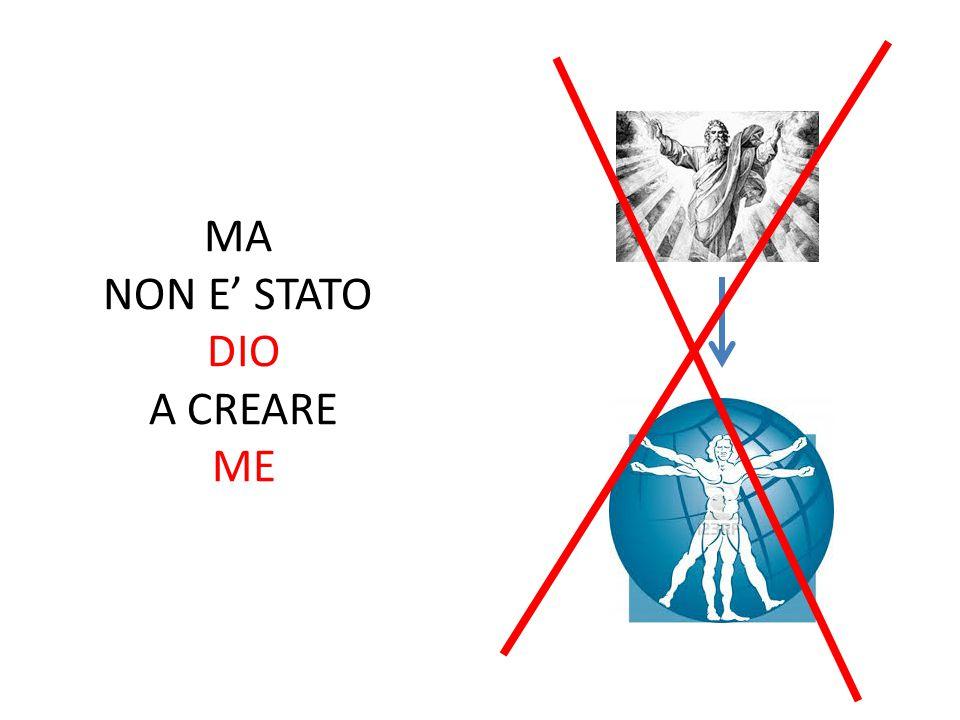 SONO STATO IO A CREARE DIO!!!