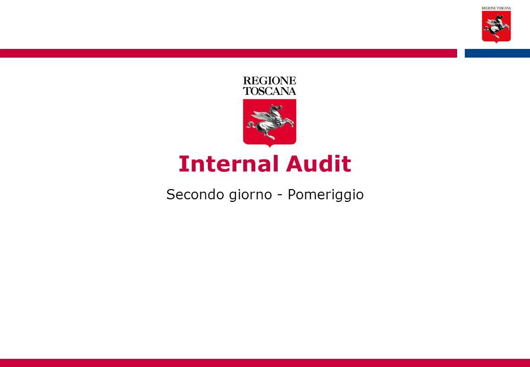 31 Indice  Control and Risk Self Assessment, processo di analisi della gestione di rischi e dei controlli: individuazione, valutazione, analisi quantitativa e qualitativa, prioritizzazione (1° fase)  Esercitazione CRSA (1° e 2° fase)  Esercitazione CRSA (3° fase) e discussione delle risultanze
