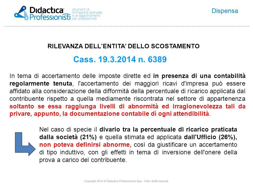 PROBLEMI DI SALUTE Cass.29.1.2014 n.