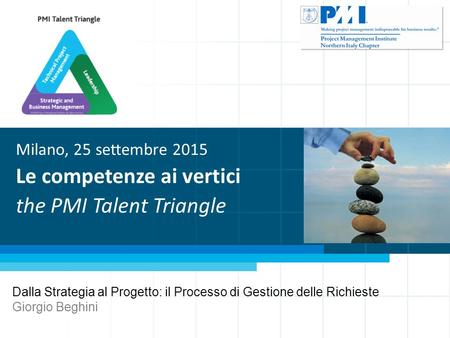 PMI EMEA Congress 2011 - Session PRJ11 Generating Opportunities from Constraints Ethics for Project Success Michela Ruffa, PMP © - Director at Large –