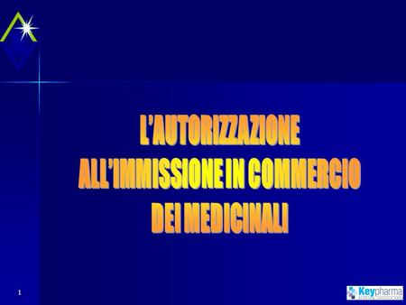 ALL'IMMISSIONE IN COMMERCIO