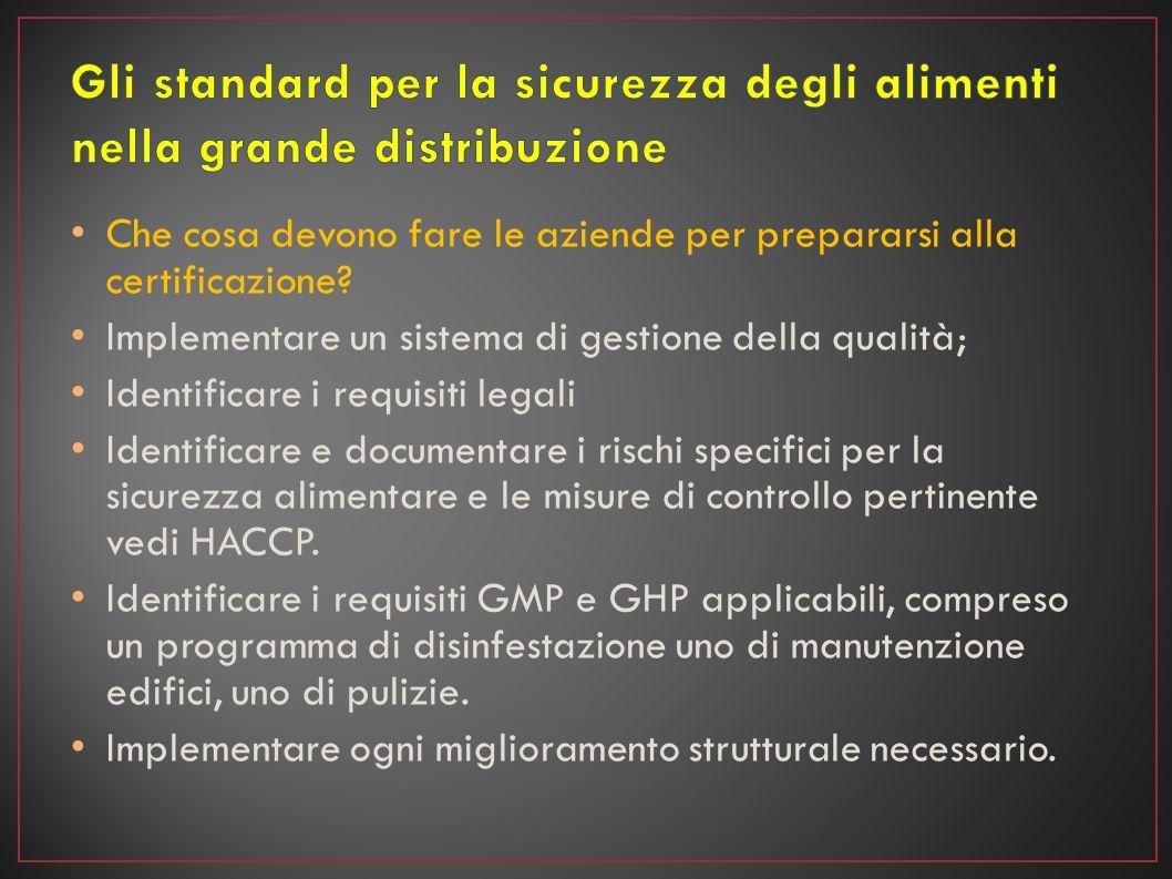 Quali sono i vantaggi offerti dagli standard.