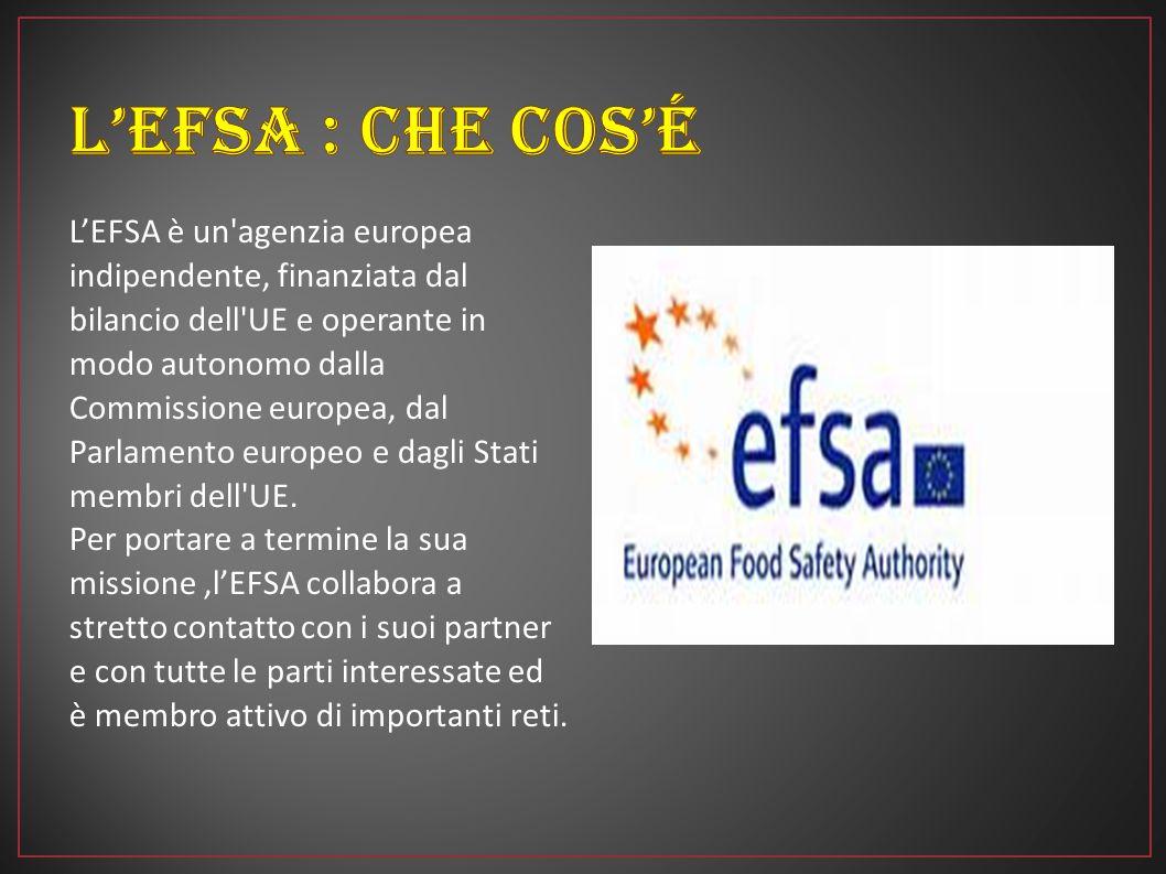 L'Autorità europea per la sicurezza alimentare (EFSA) svolge un ruolo fondamentale nella valutazione dei rischi relativi alla sicurezza di alimenti e mangimi.