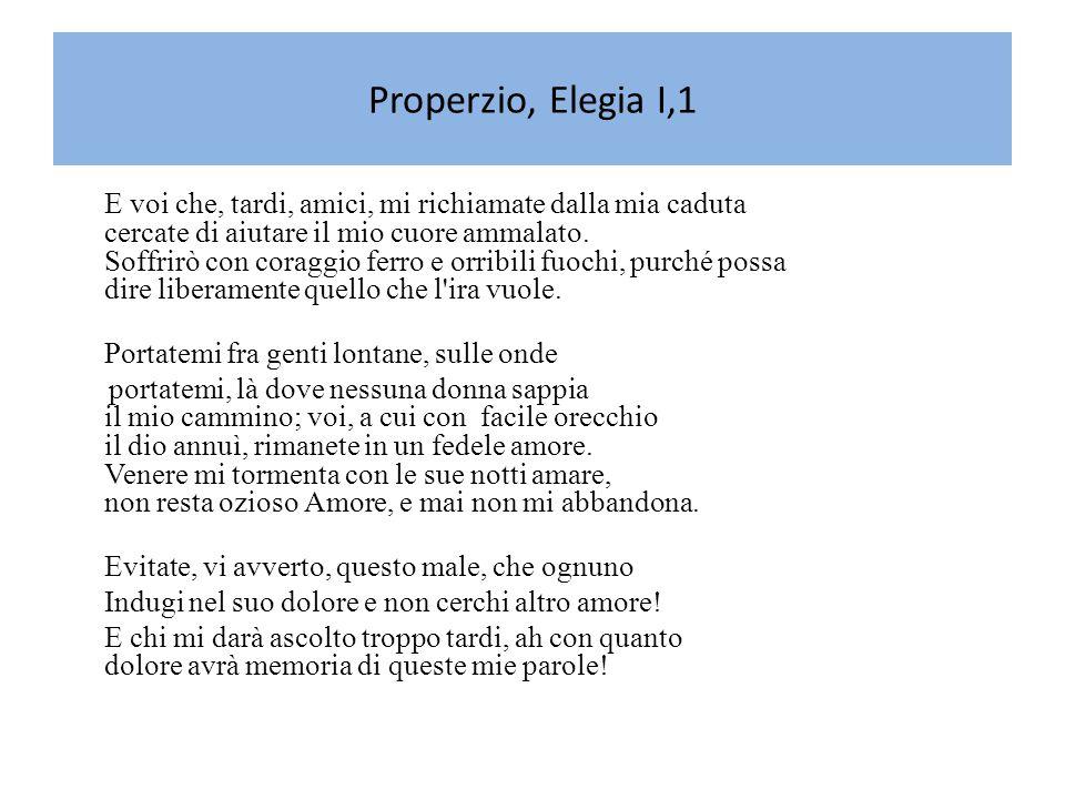 Ovidio (Sulmona 43 a.C.– Tomi 18 d.C.) Nacque a Sulmona (Abruzzo) nel 43 a.C.