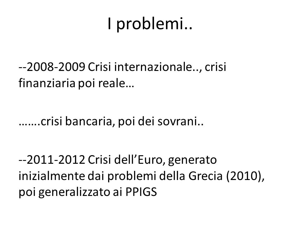 --Trasferimenti di risorse a paesi sotto stretti piani di condizionalità..
