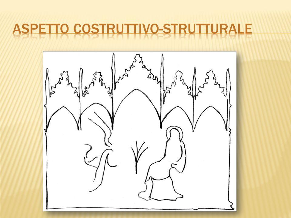  Linea - Ritmo L immagine si svolge tutta in un raffinato gioco di linee sinuose in superficie, (nonostante il suggerimento spaziale affidato al trono disposto obliquamente).