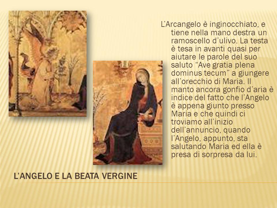 La purezza della Vergine è il presupposto, ed è necessaria affinché Maria possa ascoltare le parole dell'angelo e accettare la volontà del Padre.