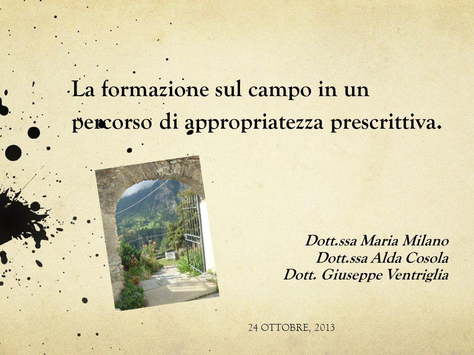 FSC 2012: formazione MMG Regione Piemonte DGR 07/04/11, n.