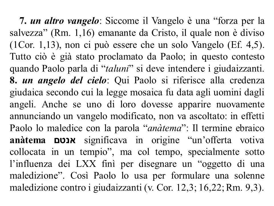 II – Parte I (1,10-24).