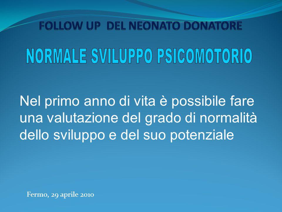 SEMEIOTICA NEUROEVOLUTIVA Esamina anche funzioni del SNC di cui si propone di valutare : Lo stato attuale Il potenziale evolutivo La modificabilità Fermo, 29 aprile 2010