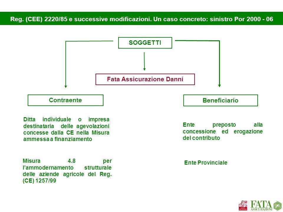 Caratteristiche oggettive Importo Garantito Durata Modalità di escussione Peculiarità variabile rispetto al progetto approvato € 80.000,00 richiesta scritta 1.art.