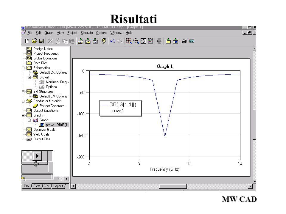 MW CAD Adattamento Reattivo Parallelo