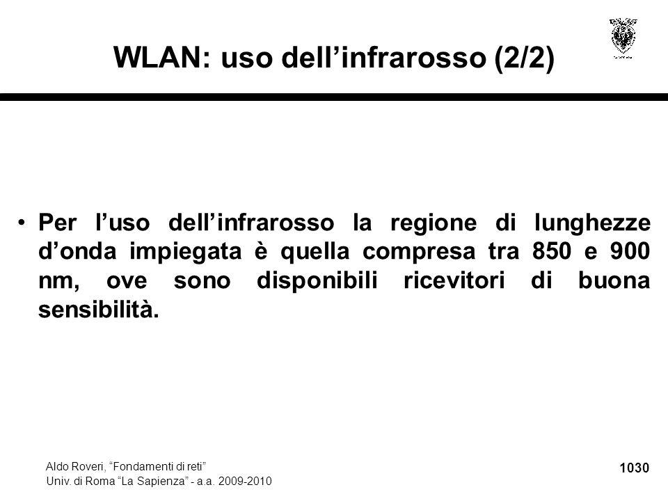 1031 Aldo Roveri, Fondamenti di reti Univ.di Roma La Sapienza - a.a.