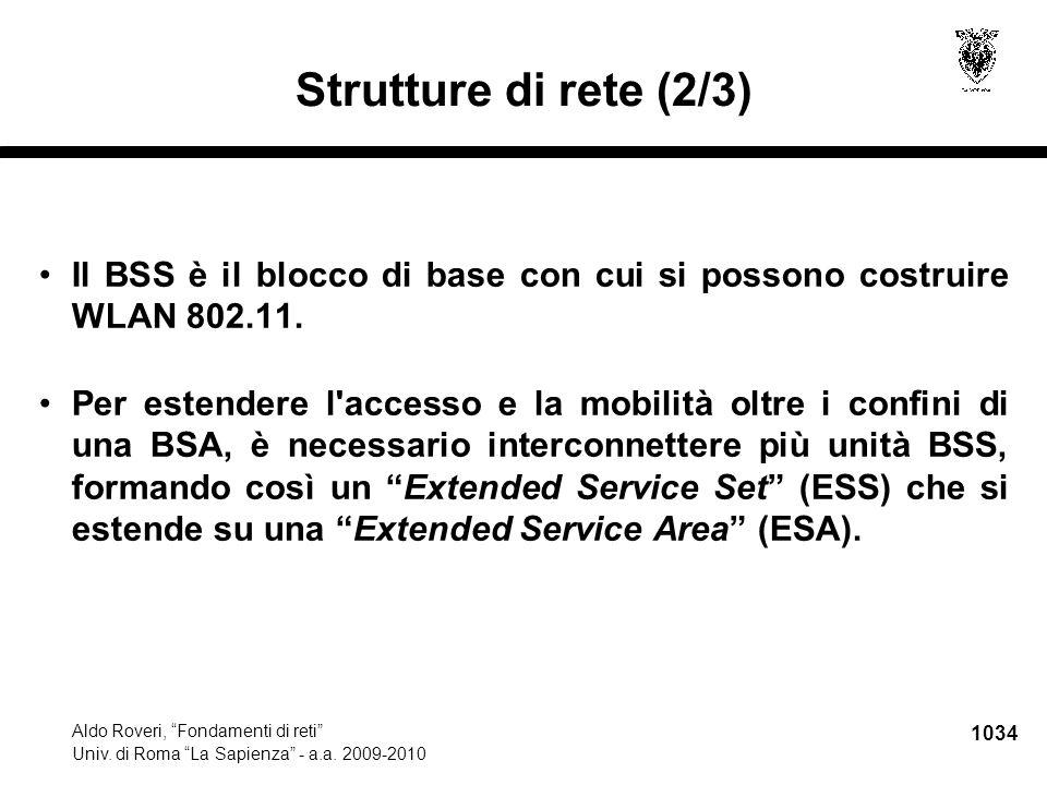 1035 Aldo Roveri, Fondamenti di reti Univ.di Roma La Sapienza - a.a.