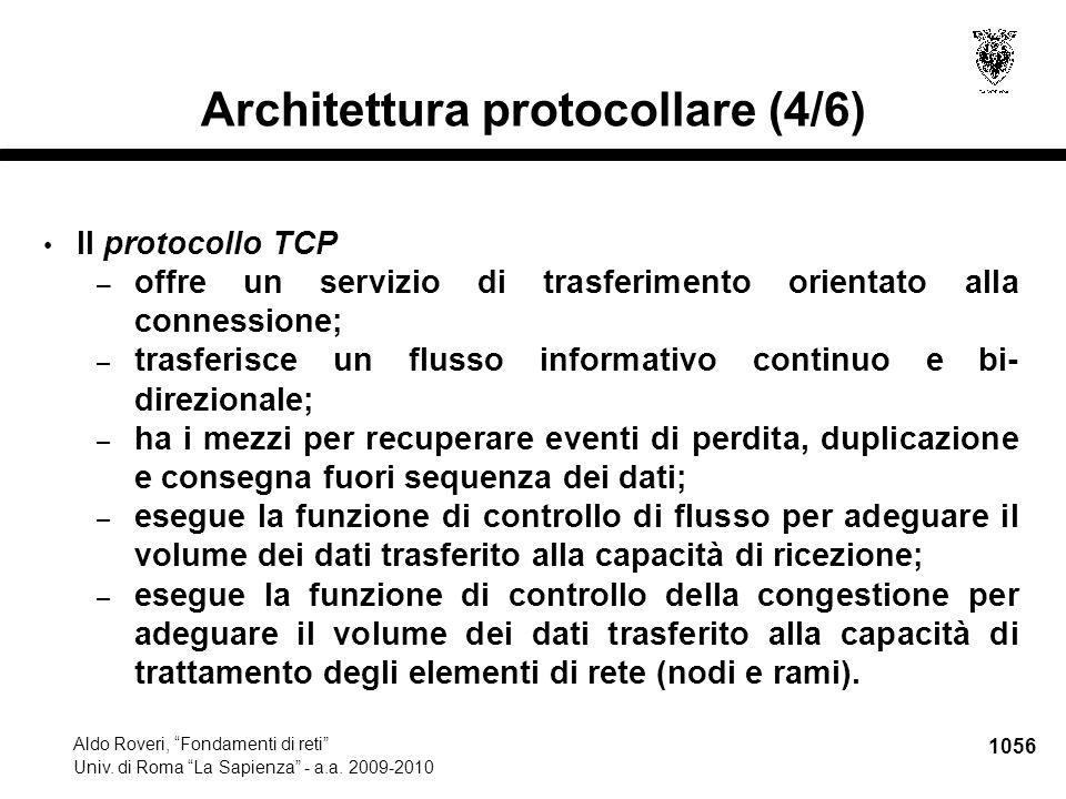 1057 Aldo Roveri, Fondamenti di reti Univ.di Roma La Sapienza - a.a.