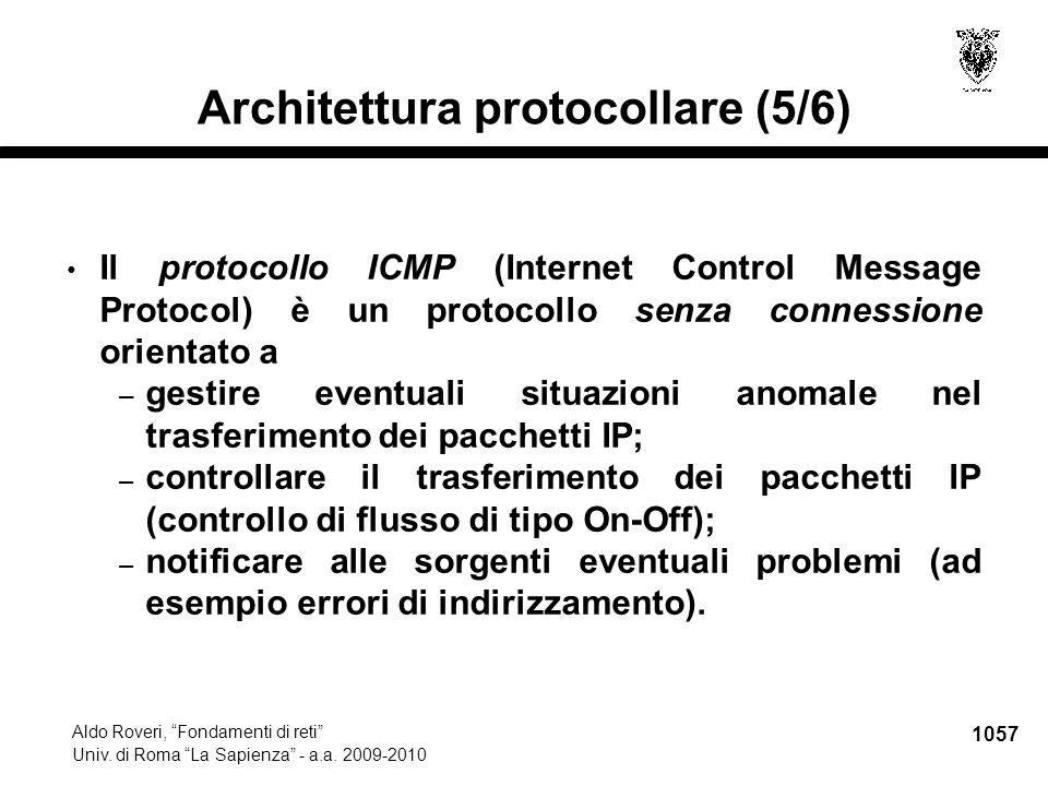 1058 Aldo Roveri, Fondamenti di reti Univ.di Roma La Sapienza - a.a.