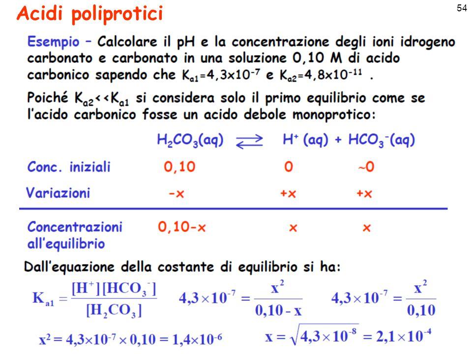 55 Acidi poliprotici
