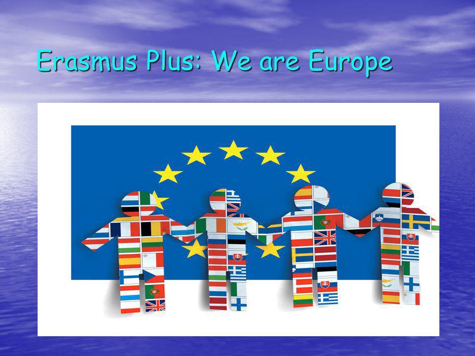 Erasmus PLUS 2014-2020 sintesi www.erasmusplus.it www.erasmusplus.it UNICO Programma Integrato: riunisce in un solo programma Comenius, Erasmus Leonardo da Vinci, Grundtvig; UNICO Programma Integrato: riunisce in un solo programma Comenius, Erasmus Leonardo da Vinci, Grundtvig; Obiettivi 2020 Obiettivi 2020 Innalzare il livello di istruzione superiore dal 32% al 40% Innalzare il livello di istruzione superiore dal 32% al 40% Ridurre il tasso di abbandono scolastico dal 14% ameno del 10% Ridurre il tasso di abbandono scolastico dal 14% ameno del 10%