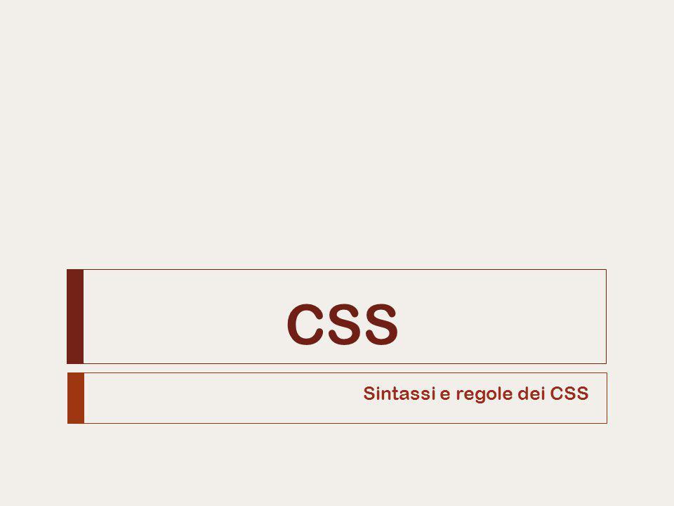 Sintassi  La sintassi del codice CSS è piuttosto semplice:  selettore identifica l'elemento sul quale applicare lo stile  proprietà definisce l'attributo che si vuole cambiare  valore specifica come cambiare la proprietà  Esempio: CSS inline 2Alice Pavarani selettore { proprietà: valore; } body { color: blue; } …