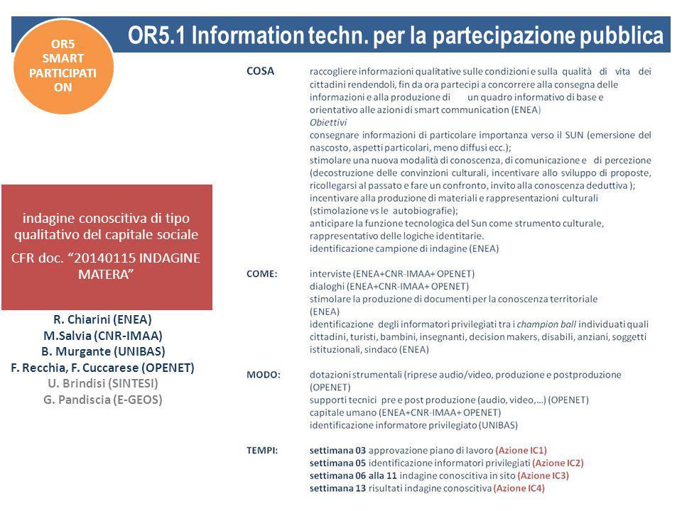 indagine conoscitiva di tipo qualitativo del capitale sociale CFR doc.