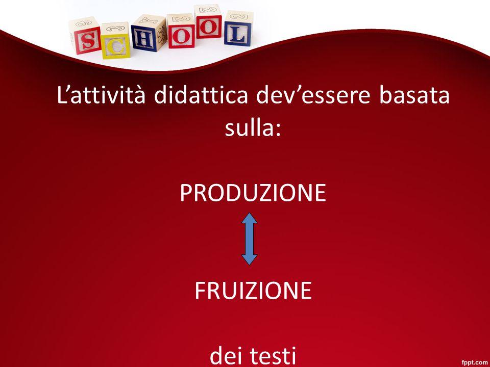 I testi possono essere: Denotativi ( di tipo scientifico, informativi) Pragmatico-sociali ( scopo esterno, persuasivi) Connotativi;espressivi ( scopo interno)
