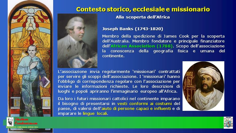 Contesto storico, ecclesiale e missionario Una Chiesa libera, umana e profetica Sinodo di Pistoia (1786) Sotto la guida di mons.